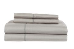 Devonshire of Nottingham 1200 Thread Count Egyptian Quality Cotton Sheet Set Color: Gray, Size: California King