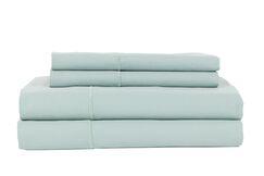 Devonshire of Nottingham 1200 Thread Count Egyptian Quality Cotton Sheet Set Size: King, Color: Ocean Blue