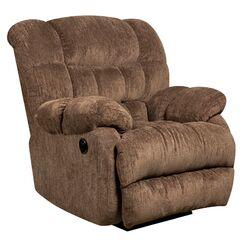 Augustus Power Recliner Upholstery: Mushroom