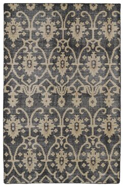 Gallego Black Area Rug Rug Size: Rectangle 8' x 10'