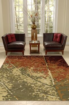 Jackson Hole Hand-Tufted Brown/Beige Area Rug Rug Size: Rectangle 3'6