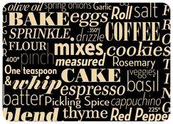 Swofford Kitchen Words Kitchen Mat