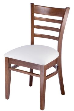 Delrick Wood Upholstered Dining Chair
