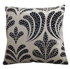 Clovis Lily Jacquard Polyester Throw Pillow