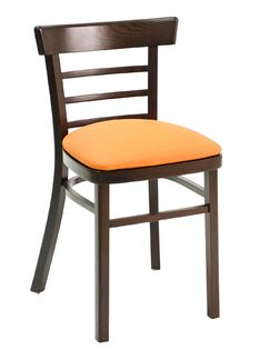 ECO Series Side Chair Color: Natural, Upholstery Color: Wood