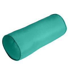 Ed Outdoor Sunbrella Bolster Pillow Color: Aruba