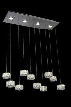 Baggett LED Cascade Pendant