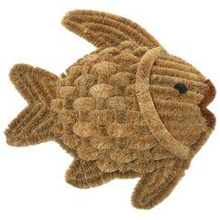 Fish Scraper Decorative Doormat