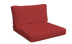 2 Piece Outdoor Lounge Chair Cushion Set Size: 23