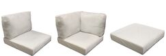Barbados 14 Piece Outdoor Cushion Set Fabric: Coverless