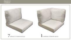 East Village Outdoor 17 Piece Lounge Chair Cushion Set