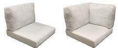 Fairmont 17 Piece OutdoorLounge Chair Cushion Set