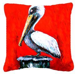 Pelican Red Dawn Indoor/Outdoor Throw Pillow Size: 14
