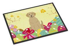 Easter Eggs Labrador Indoor/Outdoor Doormat