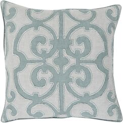 Rushford Linen Throw Pillow Size: 20