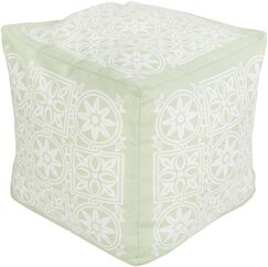Digby Pouf Upholstery: Light Green