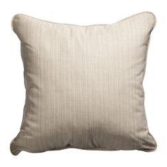 Baskerville Outdoor Sunbrella Throw Pillow Size: 18