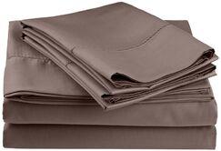Freeburg 600 Thread Count Sheet Set Color: Gray, Size: Split King