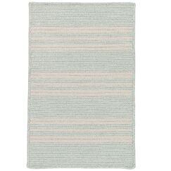 Neponset Hand-Woven Green Indoor/Outdoor Area Rug Rug Size: 6' x 9'