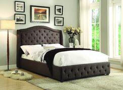 Belia Upholstered Panel Bed Size: Queen