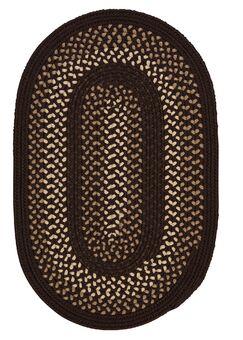Omaha Seal Brown Indoor/Outdoor Area Rug Rug Size: Runner 2' x 6'