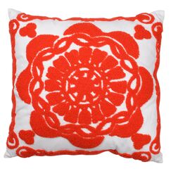 Glenmeadow Embroidered Throw Pillow