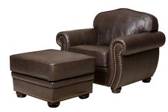Morgenstern Armchair and Ottoman