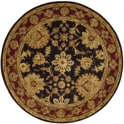 Delaware Area Rug Rug Size: Round 8'