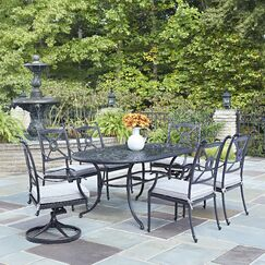 Lansdale 7 Piece Dining Set with Cushions
