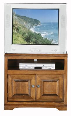 Verna TV Stand Color: Chocolate Mousse, Width of TV Stand: 27