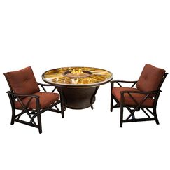 Paxtonville 3 Piece Conversation Set with Cushions
