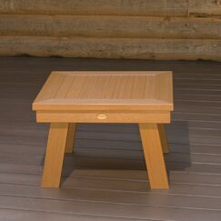 Emery Wood Dining Table Color: Toffee
