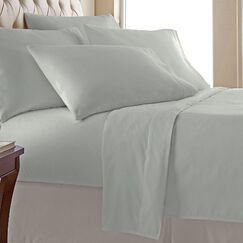 Miral 400 Thread Count 100% Cotton Sheet Set Size: King, Color: Sage
