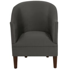 Diana Barrel Chair Upholstery: Premier Charcoal