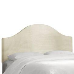 Regal Upholstered Panel Headboard Color: Laguna, Size: King