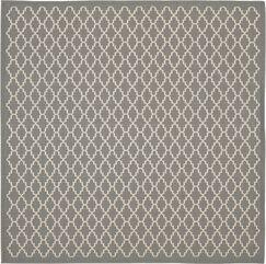 Bexton Anthracite/Beige Indoor/Outdoor Area Rug Rug Size: Square 4'