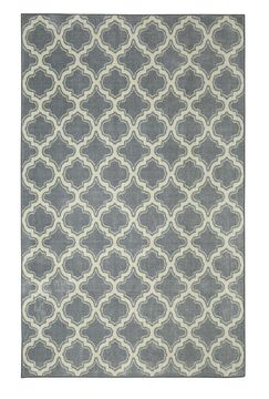 Latimer Gray Area Rug Rug Size: Rectangle 7'6