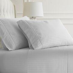 Phillip Sheet Set Color: White, Size: Queen