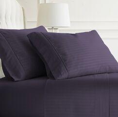 Phillip Sheet Set Color: Purple, Size: Queen