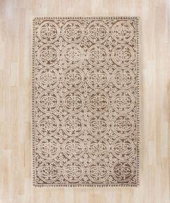 Sibanye Hand-Tufted Tan Area Rug Rug Size: Rectangle 3' x 5'