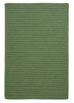 Gilmour Moss Green Solid Indoor/Outdoor Area Rug Rug Size: Square 4'