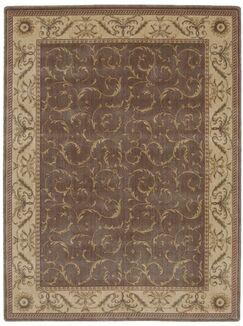 Merton Hand-Woven Khaki Area Rug Rug Size: Rectangle 7'9