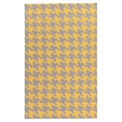 Atkins Elephant Gray & Quince Yellow Area Rug Rug Size: Rectangle 8' x 11'