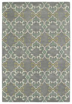 Newburgh Hand-Tufted Area Rug Rug Size: Rectangle 5' x 7'9