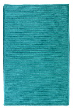 Glasgow Blue Indoor/Outdoor Area Rug Rug Size: Rectangle 5' x 8'