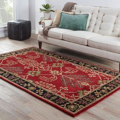 Trinningham Arts and Craft Rug Rug Size: Rectangle 5' x 8'