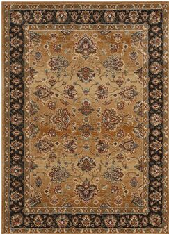 Lowe Beige/Brown Area Rug Rug Size: Rectangle 6'7