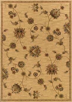 Currahee Beige/Gray Area Rug Rug Size: Rectangle 4' x 5'9