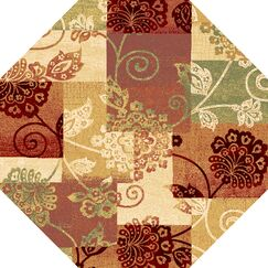 Bellville Multi Delaney Area Rug Rug Size: Rectangle 5'3