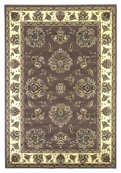 Bellville Plum / Ivory Floral Area Rug Rug Size: Rectangle 7'7